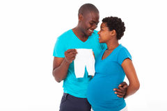 African pregnancy Royalty Free Stock Photos