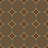 African Print Vintage Ankara Wax Seamless Design royalty free stock photo