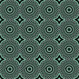 African Print Vintage Ankara Wax Seamless Design stock photo