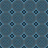 African Print Vintage Ankara Wax Seamless Design stock photography