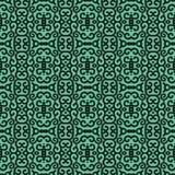 African Print Vintage Ankara Wax Seamless Design stock image
