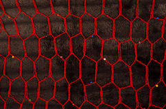 African red fabric Royalty Free Stock Photo