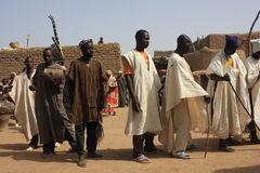 African religious ceremony royalty free stock photo
