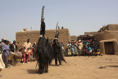 African Religious ceremony stock photography