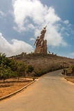 African Renaissance Monument Stock Photo