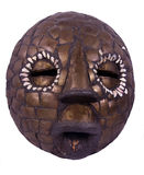 African ritual mask from Nigeria Royalty Free Stock Images