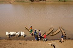 African river Royalty Free Stock Image