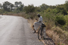 African Road Stock Image