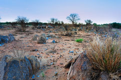 African rocky landscape Royalty Free Stock Images