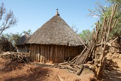 African rural church Stock Photos