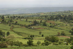 African Rural Landscape. Rural landscape in western kenya Royalty Free Stock Photos