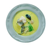 African Salt Cod and Peanut Curry. African Fish Curry Royalty Free Stock Photos