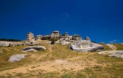 African savannah. Sky hill stones Stock Photo