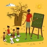 african school διανυσματική απεικόνιση
