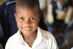 African School children. Mozambique refugee school children in south africa royalty free stock photography