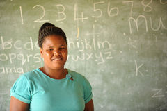 African School childrens teacher Stock Photos