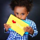 African schoolboy portrait Stock Photos