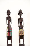 African sculpture Stock Image