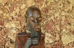 African sculpture Stock Photo
