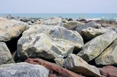 African sea granite stones Stock Images