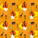 African seamless Stock Images