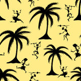 African seamless pattern. Vector illustration Royalty Free Stock Photos