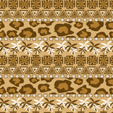 African seamless pattern Royalty Free Stock Photos