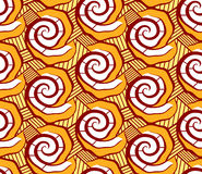 African seamless pattern Stock Photos