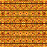 African seamless pattern Royalty Free Stock Photography