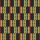 African seamless pattern. Cloth Kente. Tribal print. Traditional Cloth Kente. African print. Tribal seamless pattern. Geometric fabric design vector illustration