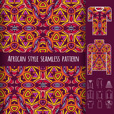 African seamless pattern Stock Photography
