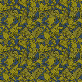 African seamless pattern. Vector Stock Photo