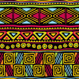 African seamless Royalty Free Stock Image