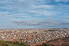 African shanty town Stock Photos