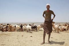 African shepheard Royalty Free Stock Photography