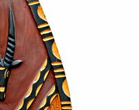 African shield Royalty Free Stock Photo