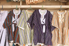 African Shirts Stock Photography