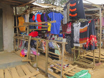 African shop Royalty Free Stock Photos