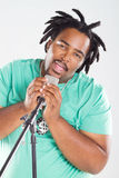 African singer Stock Photography