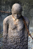 African Slave trade statue Royalty Free Stock Images