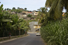 African Small Town, Santiago Island, Cape Verde Agriculture Stock Photography