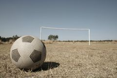 African Soccer Development Stock Image