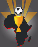 African soccer Stock Photography