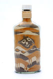 African souvenir in bottle Royalty Free Stock Photos