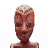 African souvenir. Man head. Royalty Free Stock Images