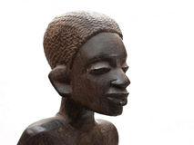 African souvenir. Woman head. Royalty Free Stock Photo