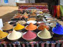 African spices Royalty Free Stock Images