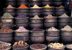 African spices Stock Photo