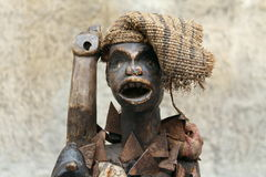 African statue. Especially old statue African ornament royalty free stock photography
