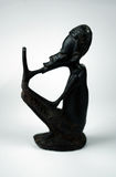 African statuette. Traditional african statuette Royalty Free Stock Images